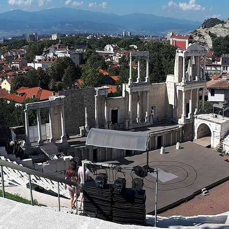 Plovdiv amphitheatre - Plovdiv Cultural Capital 2019