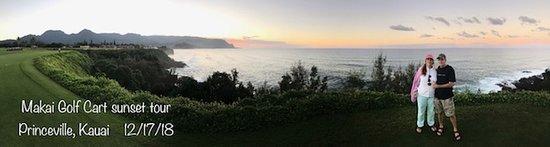 Makai Golf Cart sunset tour (next door to resort)