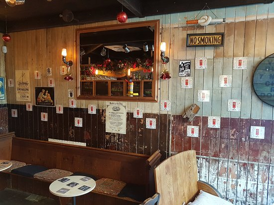 Rochester, UK: Our customers festive faces advent wall 🍻👍