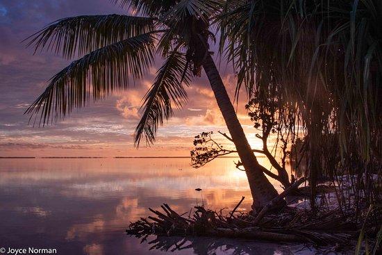 Fanning Island sunrise