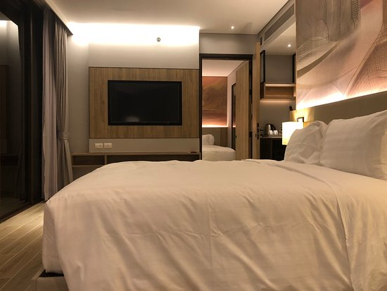 New hotel with panorama view of Aonang