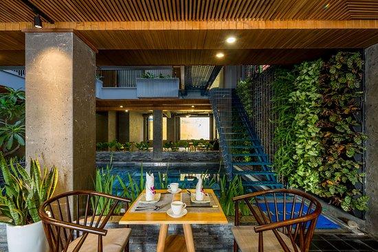Breakfast view  - Photo de Lahome Apartment And Villa, Da Nang