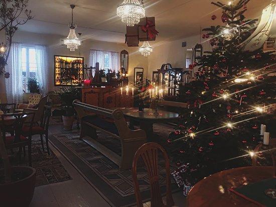 Klockargardens Vaffleri: Christmas spirit