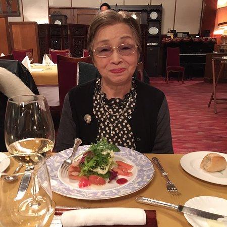 Mampei Hotel: お母さんの米寿のお祝いで来ました。 とっても美味しかったです㊗️