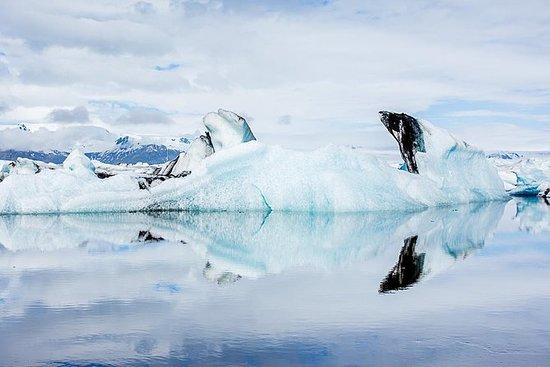 氷河ラグーンと南海岸アイスランド:レイキャビクからのプライベートツアー