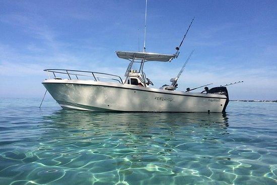 プライベート釣りとシュノーケリングアイランドアドベンチャー