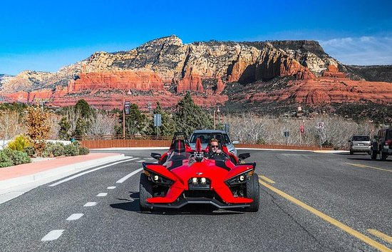 Half-Day Polaris Slingshot Rental in Sedona
