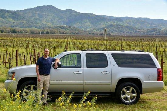 私人豪华纳帕索诺玛谷葡萄酒之旅8小时