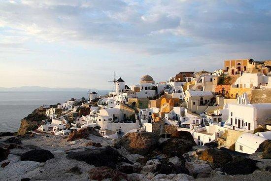 Santorini tour privé local pour petit...