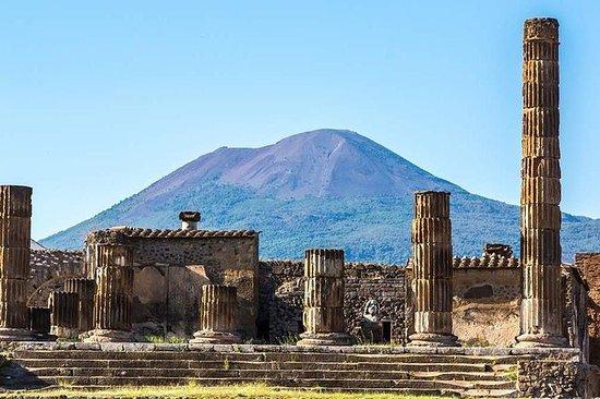 ポンペイとカゼルタ宮殿ローマからのプライベート全日ツアー