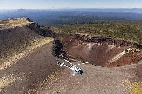 直升机塔拉威拉山火山探险