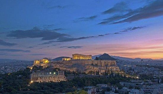 Aten sentrum hotell til Piraeus havn...