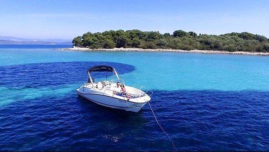 Blue Lagoon et l'île de Solta de...
