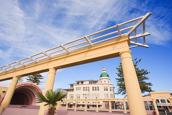 Napier City Art Deco & Vinhöjdpunkter ...