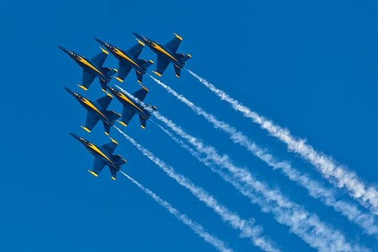 13 juli 2019 - Private Blue Angels ...