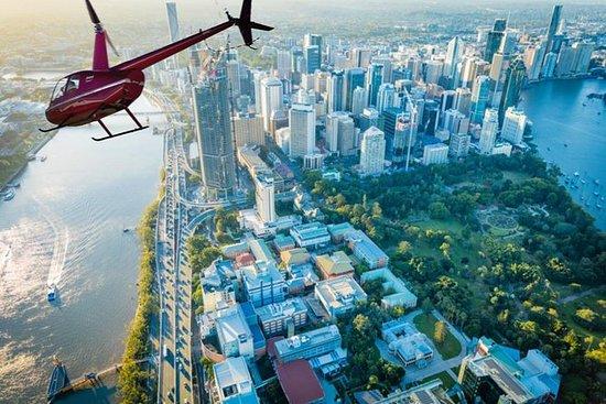 布里斯班私人直升机风景之旅 - 最多3分钟20分钟