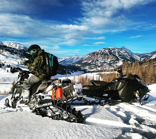 Heber City, UT: snow bikes and snowmobiles