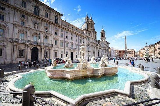 Roma por noite Tour incluindo Piazza...