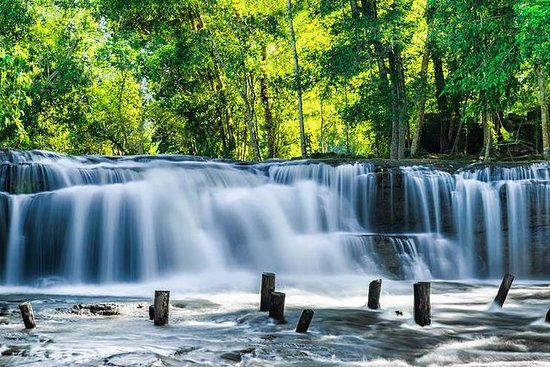 Phnom Kulen Waterfall National Park...