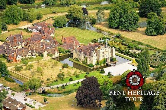Kent Heritage-helikoptertour