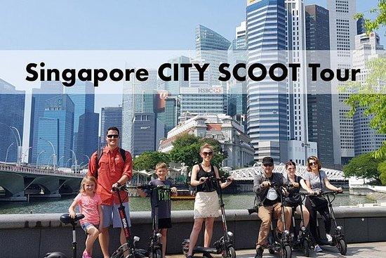 シンガポールシティスクートツアー