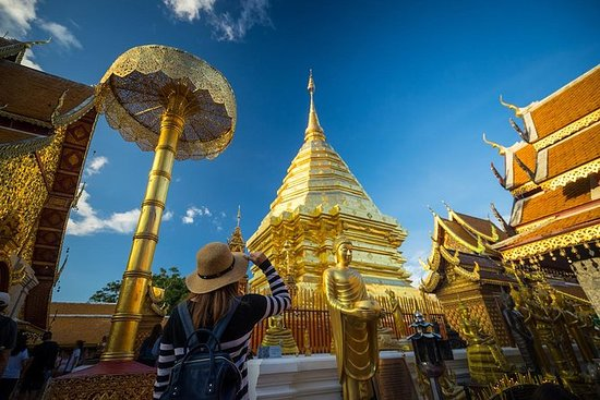 Tour de la tribu de Doi Suthep y...