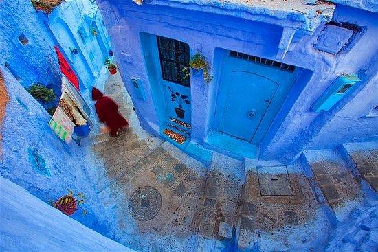 Ausflug in die blaue Stadt von Tanger...