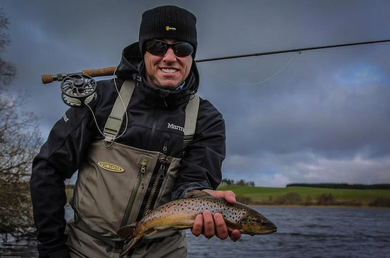 Guided Fly fishing for Trout in...