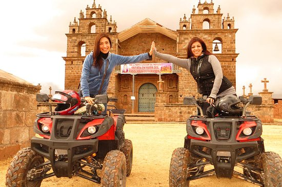 Quad Bike Tour Maras Moray