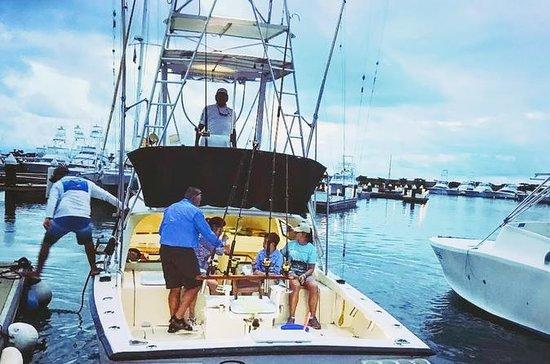 Barco de pesca deportiva en alta mar