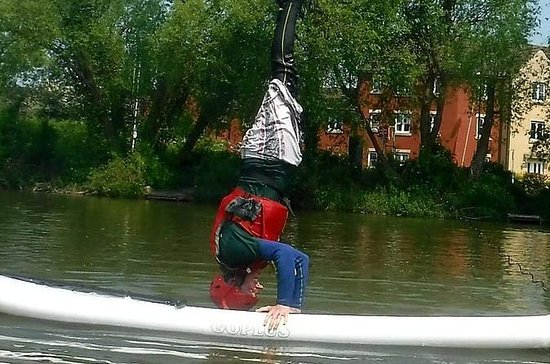 Stand Up Paddle Boarding in Wiltshire