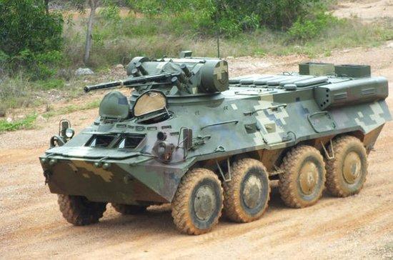 BTR-80 & TOUR DE DISPAROS