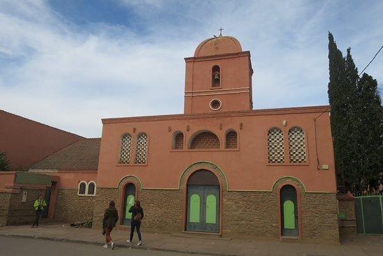 Berkane, โมร็อกโก: Facade de l'église en peu quelconques...