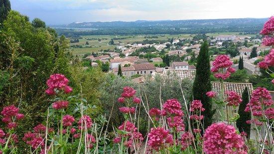 Chateauneuf-du-Pape, Γαλλία: Panorama sur la Vallée du Rhône depuis l'esplanade du Château