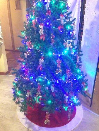 Torrebelvicino, Italie : L'albero di Natale