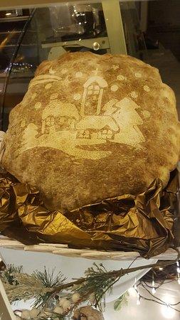 Vetrina natalizia - il Pane di Natale