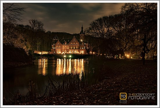 Santpoort-Noord, Belanda: Avondopname in december