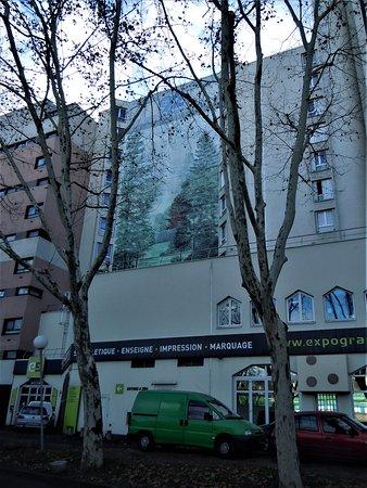 "Fresque ""Les arbres"""