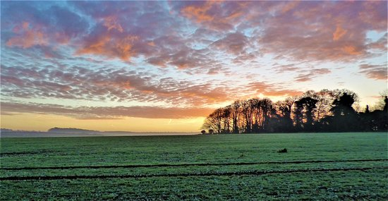 Brancaster Staithe, UK: Dawn in North Creake