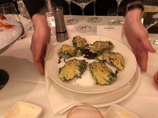 "Atlantis Steakhouse at Atlantis Casino Resort Spa: Very ""original recipe"" Oyster Rockefeller. The were outstanding."