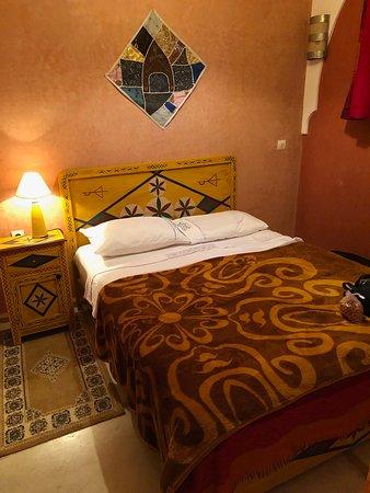 Riad l'Oiseau du Paradis: My cozy room!