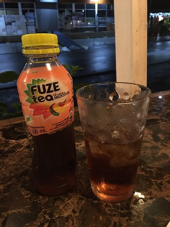 Softdrink and street view - neither very charming, huh?