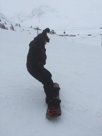 Euro Carving Picture Of Freedom Snowboarding Tignes Tripadvisor