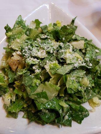 Piccola Italia: cesar salad - after