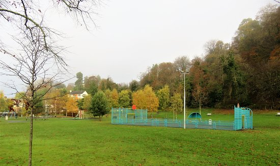 Stirling, UK : play area
