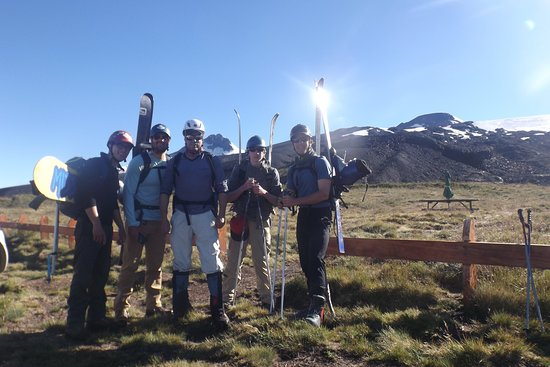 West Branch, MI: Empezando el buck country, esquí en verano en la patagonia chilena