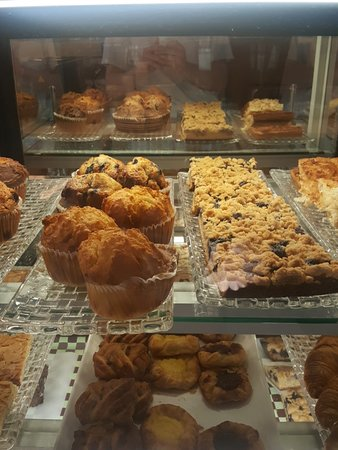Wide Variety of Pastries with localy sourced ingredients.