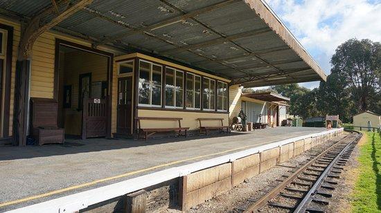 Alexandra Station Platform