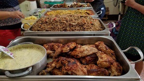 Chichigalpa, Nikaragua: Buffet muy variado y todo a menos de 5 dolares, la mejor comida de la ciudad