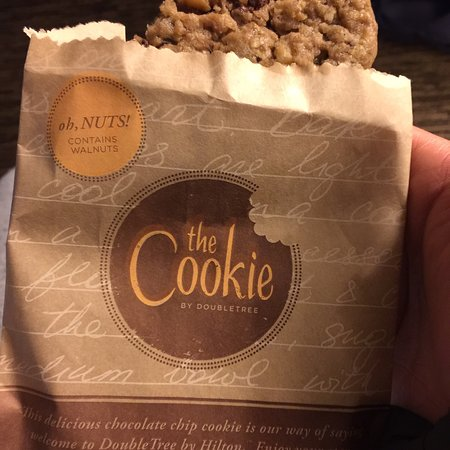 Thoughts on those cookies and my stay